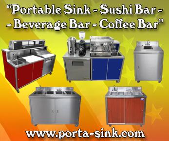 Premium Portable Sinks