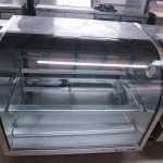 TRUE TCGG-48-S Used Curved Glass Deli Display Case