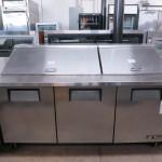 Used – TRUE TSSU-72-30M-B-ST Mega Top Sandwich Prep Unit