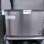 Used – MANITOWOC QY-0494N Ice Machine, NEW compressor