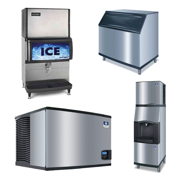 Ice Makers, Bins, Dispensers